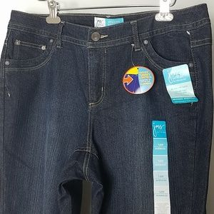 Just My Size 16W Jean Modern Bootcut Tummy Control